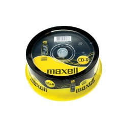 CD-R 700MB MAXELL 52x 25ks