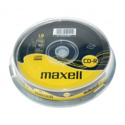CD-R 700MB MAXELL 52x 10ks