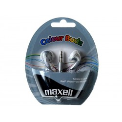 Sluchátka Maxell 303362 Colour Budz Silver