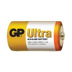 Baterie D (R20) alkalická GP Ultra Alkaline