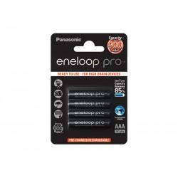 Baterie AAA (R03) nabíjecí 1,2V/900mAh Eneloop PANASONIC PRO 4ks