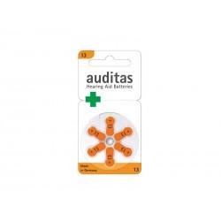 Baterie AUDITAS VARTA Audiopro 13 6ks v blistru