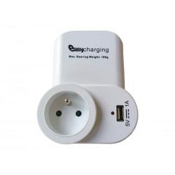 Adaptér USB SOLIGHT DC23