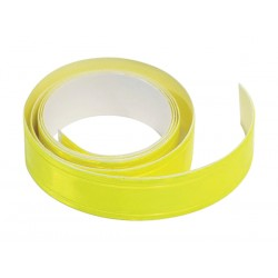 Reflexní páska samolepící 90cm x 2cm žlutá COMPASS 01584