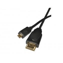 Kabel EMOS HDMI/HDMI-D micro 1,5m