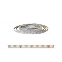 LED pásek 12V 335 (boční)  60LED/m IP20 max. 4.8W/m bílá teplá (cívka 5m)