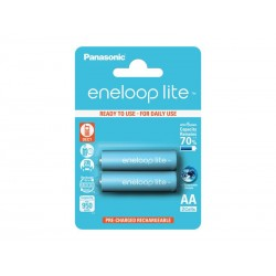 Baterie AA (R6) nabíjecí 1,2V/950mAh Eneloop PANASONIC LITE 2ks