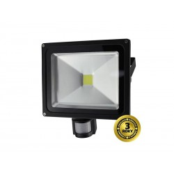 LED reflektor SOLIGHT WM-30WS-E 30W PIR