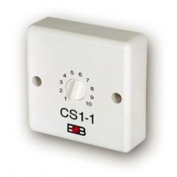 Časový spínač ELEKTROBOCK CS1-1 pro ventilátory