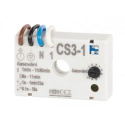 Časový spínač ELEKTROBOCK CS3-1 pro ventilátory
