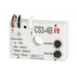 Časový spínač ELEKTROBOCK CS3-4B pro ventilátory se zpožděním bez nulového vodiče