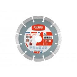 Kotouč diamantový řezný segmentový 125mm EXTOL PREMIUM 108912