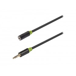 Kabel KÖNIG JACK 3.5 konektor/JACK 3.5 zdířka 3m