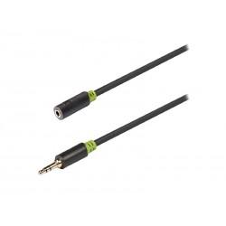 Kabel KÖNIG JACK 3.5 konektor/JACK 3.5 zdířka 5m