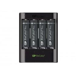 Nabíječka baterií GP USB U421 + 4xAA ReCyko+ Pro 2000mAh