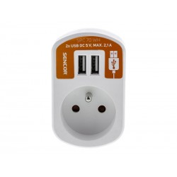 Adaptér USB SENCOR SPC 70 WH