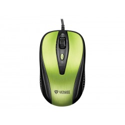 Myš drátová YENKEE YMS 1025GN Quito zelená