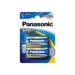 Baterie C (R14) alkalická PANASONIC Evolta 2BP