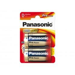 Baterie D (R20) alkalická PANASONIC Pro Power 2BP