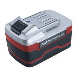 Baterie akumulátorová 18V, Li-ion, 3000mAh, pro 8891220, 8891110, a další EXTOL-PREMIUM