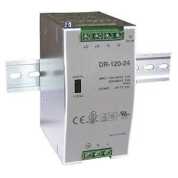 Zdroj 24V/120W spínaný DR-120 na DIN lištu CARSPA