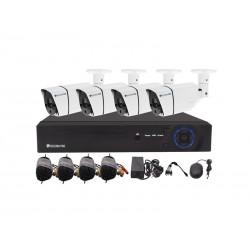 Kamerový systém SECURIA PRO AHD4CHV1-W