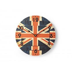 Hodiny NEDIS BRITISH FLAGS 30cm