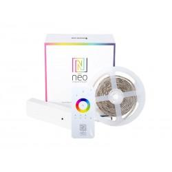LED pásek 24V 60LED/m IP65 11.5W/m RGB + CCT IMMAX NEO 07008D 2m + dálkový ovladač