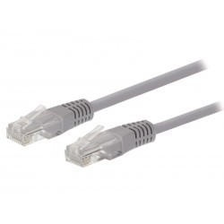 Kabel UTP 1x RJ45 - 1x RJ45 Cat5e 2m GREY VALUELINE VLCT85000E20
