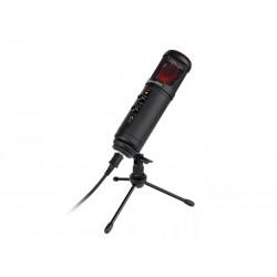 Mikrofon KRUGER & MATZ Warrior GV-100 USB herní a vlogerový