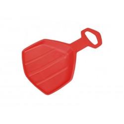 Kluzák plastový ACRA PINGUIN červený