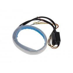 LED pásek STU 96UN01 dynamické blinkry oranžová/poziční světla bílá 60cm