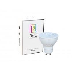 Chytrá WiFi žárovka LED GU10 4.8W teplá bílá IMMAX NEO 07003L