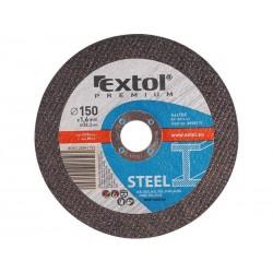 Kotouč řezný na ocel, 115x1,6x22,2mm EXTOL-PREMIUM