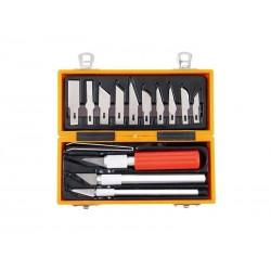 Nůž na vyřezávání EXTOL CRAFT 91350 14ks