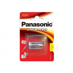 Baterie CR123 PANASONIC lithiová 1BP
