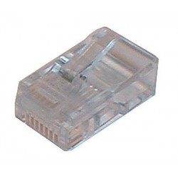 Konektor telefonní kabel 6p-2c RJ11