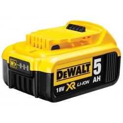 Zásuvný akumulátor 18 V XR Li-Ion 5,0 Ah DEWALT
