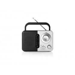 Rádio NEDIS RDFM1300WT BLACK/WHITE