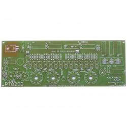 Plošný spoj TIPA PT029B Digitronové hodiny