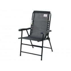 Židle zahradní CATTARA TERST skládací černá
