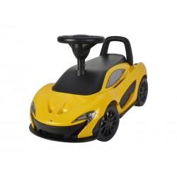 Odrážedlo BUDDY TOYS BPC 5143 McLaren P1 žluté