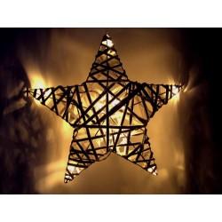Dekorace vánoční SOLIGHT 1V41 hvězda