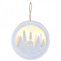 Dekorace vánoční SOLIGHT 1V223-B les