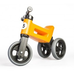 Odrážedlo TEDDIES FUNNY WHEELS 2v1 ORANGE