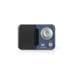 Rádio NEDIS RDFM1300BU BLACK/BLUE