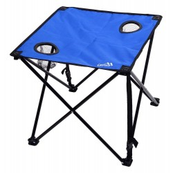 Stůl kempingový skládací LISBOA modrý CATTARA