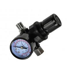 "Regulátor tlaku 1/4"", 0-10 bar GEKO"