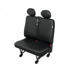Autopotahy PRACTICAL DV dodávka - 2 sedadla, černé SIXTOL