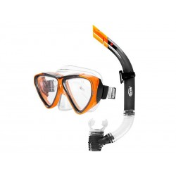 Sada potápěčská HASBRO JOURNAL NERF černo-oranžová